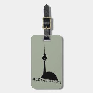 Berlin Fernsehturm Luggage Tag