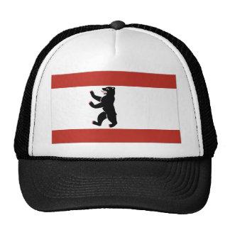 Berlin flag mesh hats