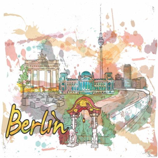 Berlín Fotoescultura Vertical