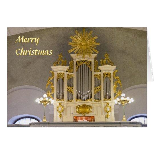 Berlin French Church Christmas card