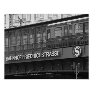 Berlin Friedrichstraße 001.F.05, Station Poster