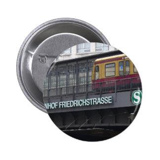 Berlín Friedrichstrasse, estación Pin Redondo 5 Cm