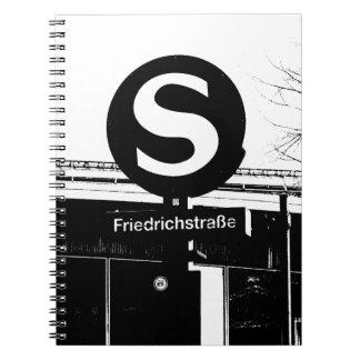 BERLIN Friedrichstrasse, S-Bahn, Germany Notebooks