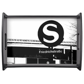BERLIN Friedrichstrasse, S-Bahn, Germany Serving Platter