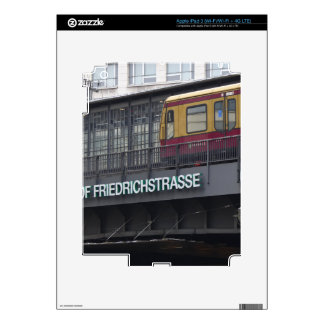 Berlin Friedrichstrasse, Station Skins For iPad 3