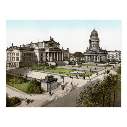 Berlín Gendarmenmarkt Postales