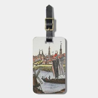 Berlin, Germany, 1737 Bag Tag