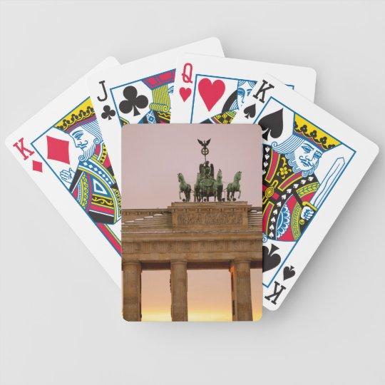 Berlin, Germany - Brandenburg Tor Bicycle Playing Cards