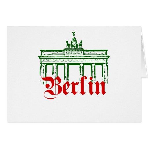 Berlin Germany Card