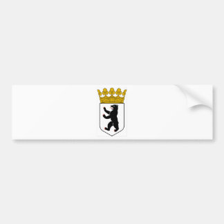 Berlin Germany Coat of Arms Bumper Stickers