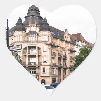 Berlin Germany - Commerzbank AG Junction Heart Sticker