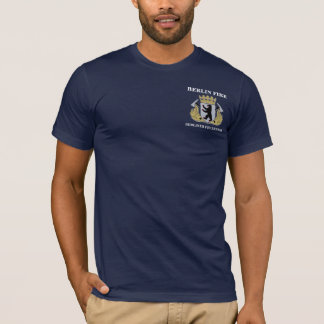Berlin Germany Fire Department Tee
