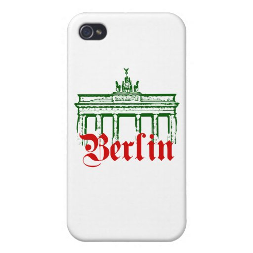 Berlin Germany iPhone 4 Cover
