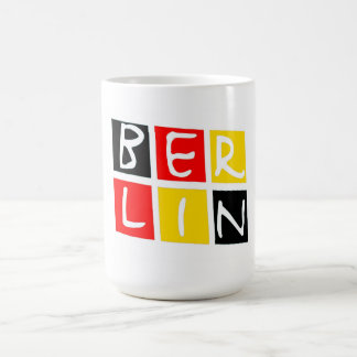 Berlin, Germany Logo in Squares Coffee Mug