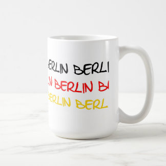 Berlin, Germany Logo Souvenir Coffee Mug
