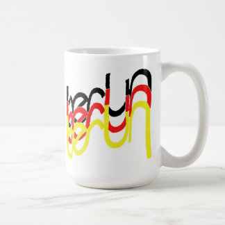 Berlin, Germany Logo with Interlocked Letters Coffee Mug