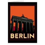 berlin germany oktoberfest art deco retro travel greeting cards