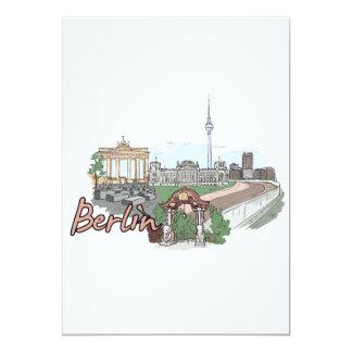Berlín - Germany.png Invitación 12,7 X 17,8 Cm
