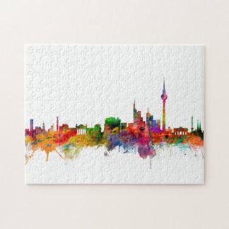 Berlin Germany Skyline Jigsaw Puzzle