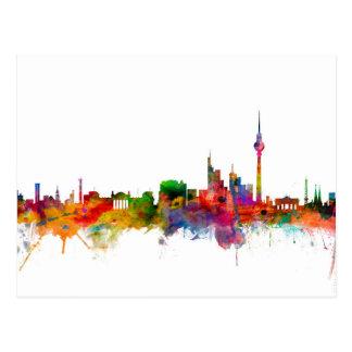 Berlin Germany Skyline Postcard