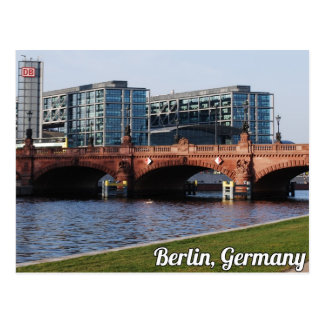 Berlin Germany - SUnny Spring Day Postcard