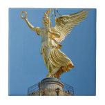 Berlin, Germany - Top of Victory Column Ceramic Tile