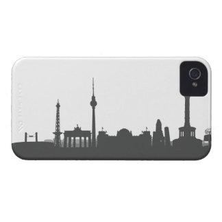 Berlín horizonte 4/4s revestimiento protector/Case iPhone 4 Coberturas