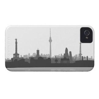 Berlín horizonte 4/4s revestimiento protector/Case Case-Mate iPhone 4 Funda