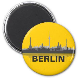 Berlín horizonte nevera imán
