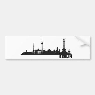 Berlín horizonte pegatina pegatina para auto