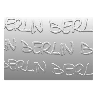 Berlin in Bas-Relief (1) Business Card Template