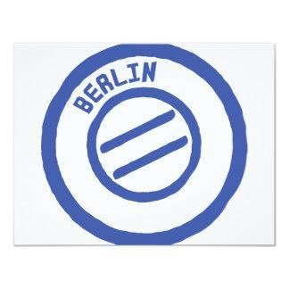 "Berlín Invitación 4.25"" X 5.5"""