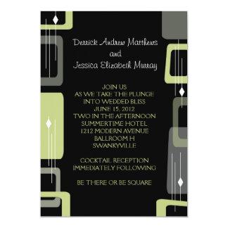 Berlin Invite: Lime 5x7 Paper Invitation Card
