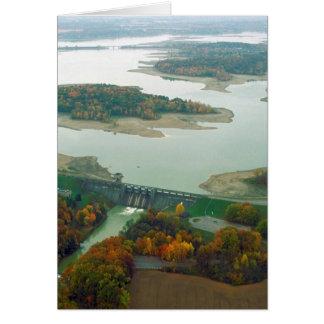 Berlin Lake and Dam 2 Card