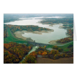 Berlin Lake and Dam 2 Greeting Card
