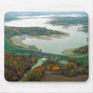 Berlin Lake and Dam 2 Mouse Pad