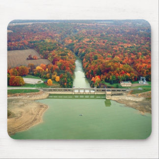 Berlin Lake and Dam Mouse Pad