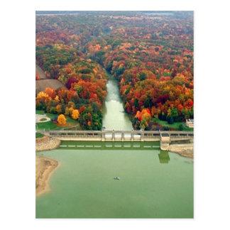 Berlin Lake and Dam Postcard