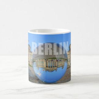 BERLIN - lakes through the crystal ball, Reichstag Coffee Mug
