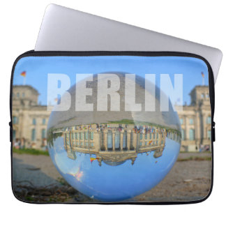 BERLIN - lakes through the crystal ball, Reichstag Computer Sleeve