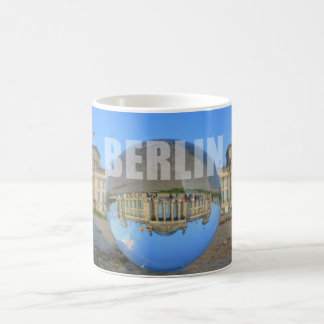 BERLIN - lakes through the crystal ball, Reichstag