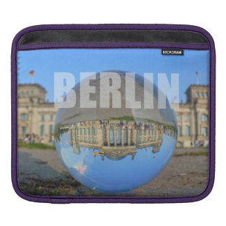 BERLIN - lakes through the crystal ball, Reichstag Sleeve For iPads