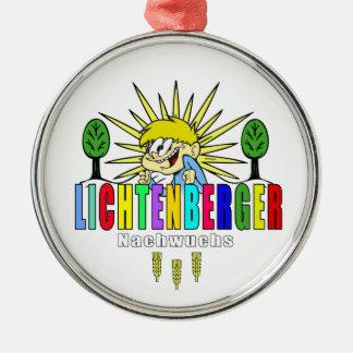 Berlín Lichtenberg descendencia Germany Adorno Navideño Redondo De Metal