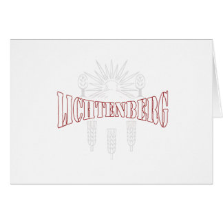 Berlin Lichtenberg Germany coat of arms Cards