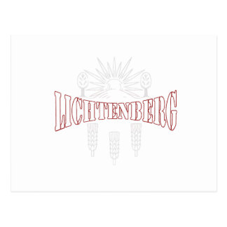 Berlin Lichtenberg Germany coat of arms Post Cards