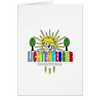 Berlin Lichtenberg new generation Germany Greeting Card