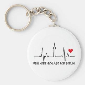Berlín Llavero Redondo Tipo Pin