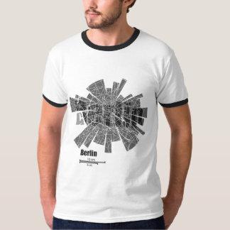 Berlin Map Ringer T-Shirt