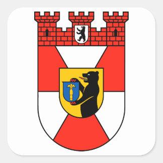 Berlin-Mitte Square Sticker