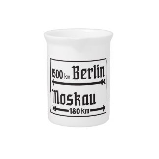 Berlín-Moscú, II guerra mundial, Rusia Jarra Para Bebida